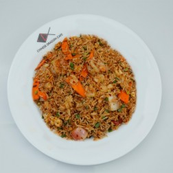SPICY THAI RICE WITH SEAFOOD