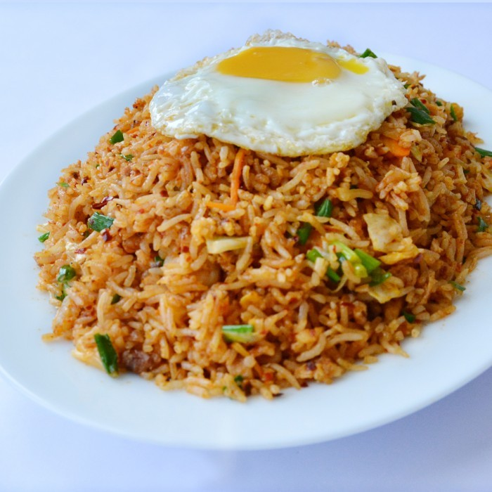 Rice nasi goreng - Six alternative uses of rice at home ...